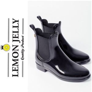 Lemon Jelly Black Chelsea Boot